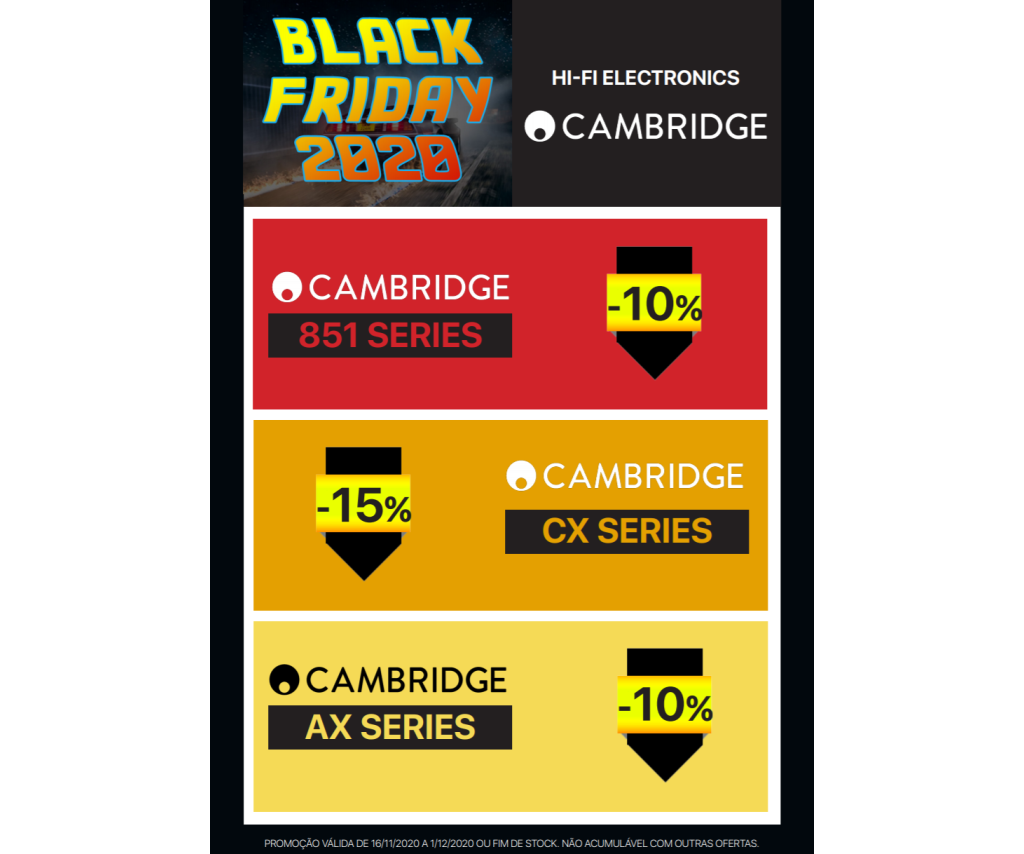 Black Friday Cambridge Audio