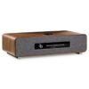ruark-audio-r5-audio-arte-na-cor-madeira-visão-frontal